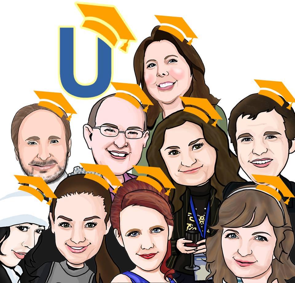 Команда MyBlogU с Энн Смарти.