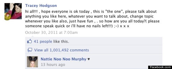 Рекорд Facebook: миллион комментариев